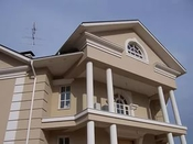 Декоративные элементы из пенопласта с покрытием для отделки фасада дома недорого