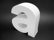 Объемные буквы из пенопласта недорого