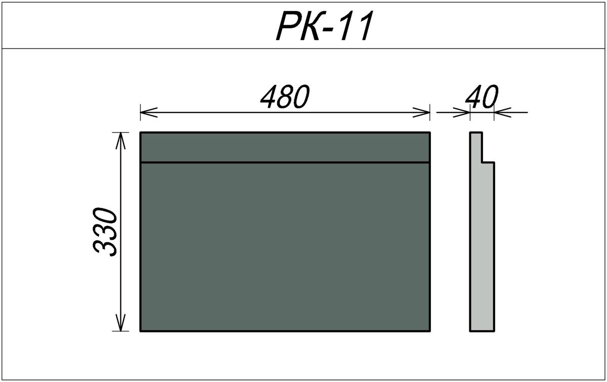 Декоративный камень из пенопласта РК-11
